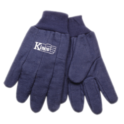 Kinco Chore Blue Cotton Gloves LARGE pair 800-L