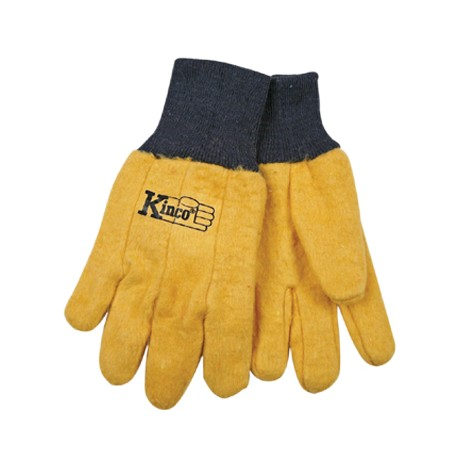 Kinco Chore Yellow Gloves YOUTH pair 816-Y