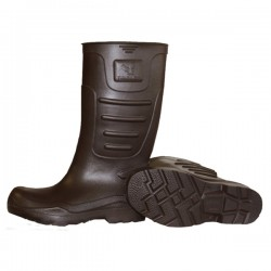 """Tingley Eva Brown Plain Toe Cleated Outsole Knee Boot 15"""""""