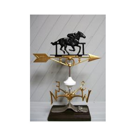 Weathervane Race Horse and Jockey