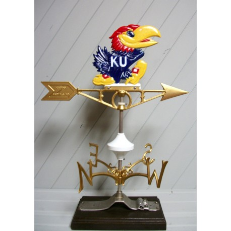 Weathervane - Kansas Jayhawk