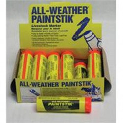 All Weather Paintsticks 12 Count Florescent Orange