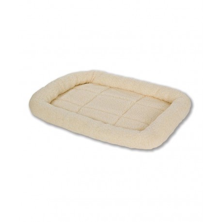 Pet Cream Fleece Bed SMALL 23""