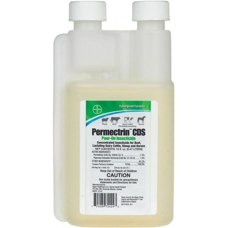 Permectrin CDS Pour-On  16oz