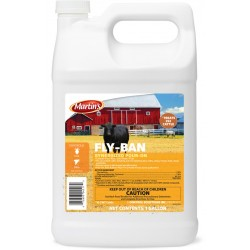 Control Solutions Fly Ban Synergized Pour On 2.5 Gal