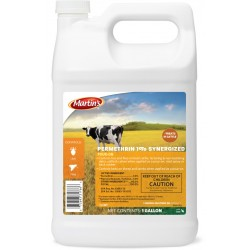 Control Solutions Permethrin 1% Synergized Pour-On 2.5 Gal