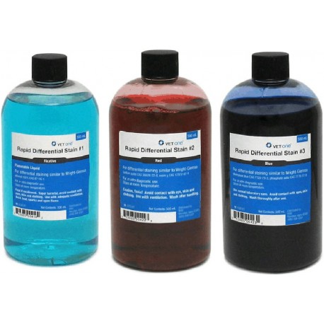 VetOne Dip Quick Stain Kit Refills 3 x 500ml