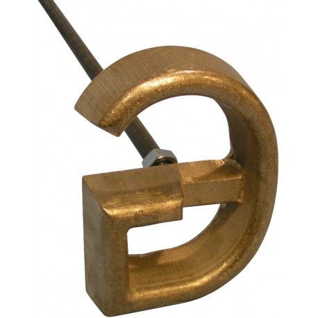 L & H Freeze Branding Iron Single Character