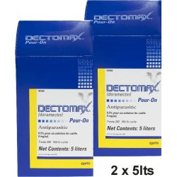 Dectomax Pour On 2 x 5 lt