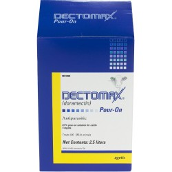 Dectomax  Pour On  4 x 2.5lt