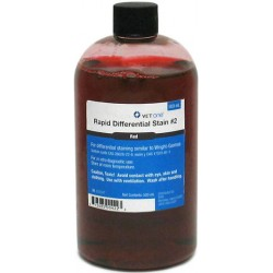 VetOne Dip Quick Differential Stain Red 500ml