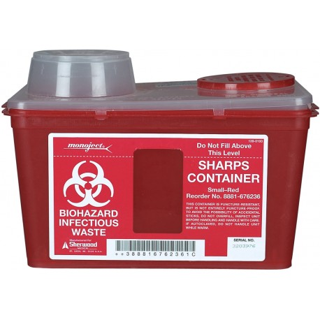 Sharps Container 4qt to 18 gal