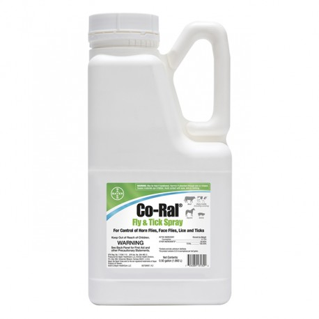 Co-Ral Fly & Tick Spray 1/2 Gallon