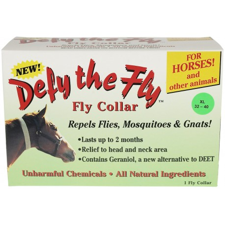 "Defy The Fly Collar Equine  XLarge 32""-40"""