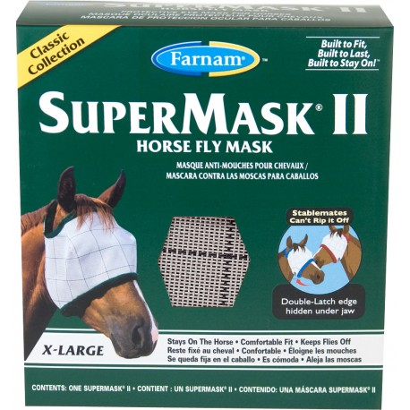 SuperMask II Fly Mask - XLg