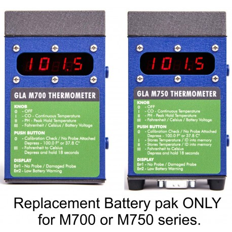 GLA  Battery Replacement Pak - M700 Only