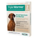 Triple Wormer for Large Dogs 2ct