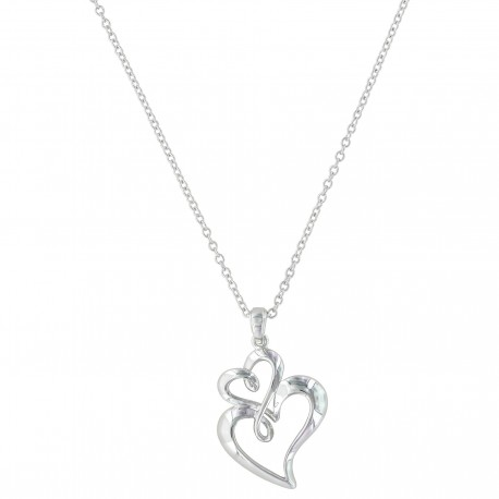 NC3309 Infinite Hearts Necklace