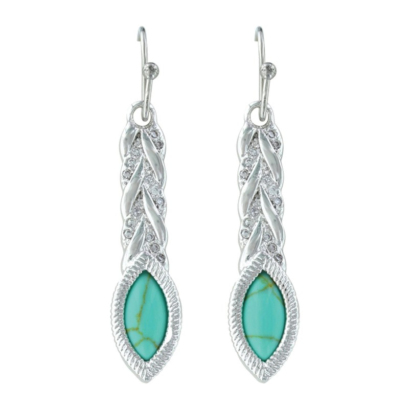 er3413tq marquise braided earrings