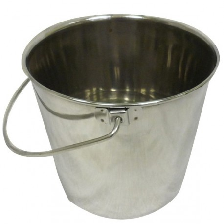 Jorgy Stainless Steel Bucket with Handle 4qt J0805B