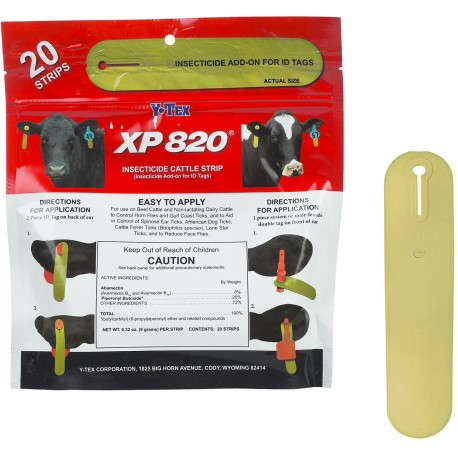 XP 820 Insecticide/Fly Strip - Cattle