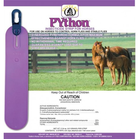 Python Insecticide/Fly Strip - Horses