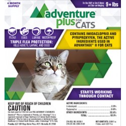 Adventure Plus for Cats 9 lbs & Up 4pk