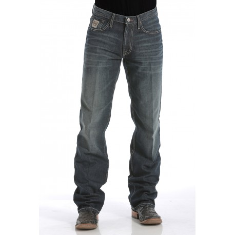 Cinch Jeans Mens White Label - Dark Stonewash