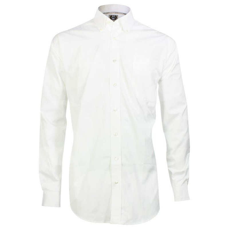 Cinch Men S Classic Fit Long Sleeve Solid White Shirt