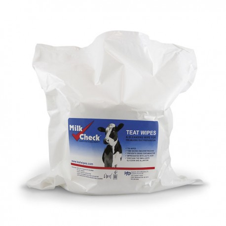 Milk Check Teat Wipes/Soft Pack 150ct
