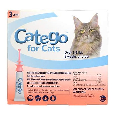 Catego for Cats 1.5lb and Up - 3 dose