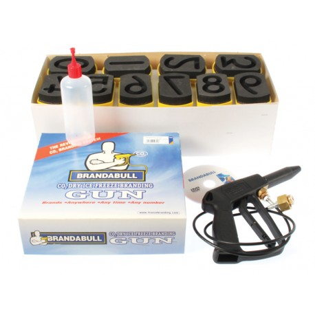 Brand A Bull Freeze Branding Kit 3""