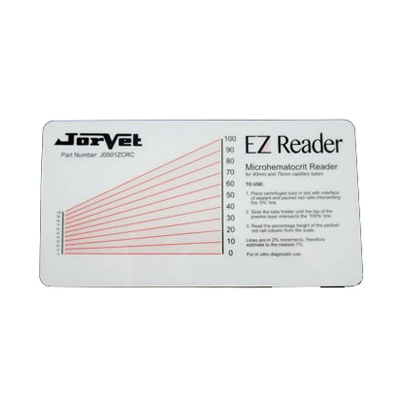 Jorgy Hematocrit Ez Reader Card J0501ez