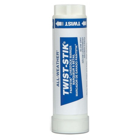 Livestock Markers Twist Sticks BLUE  12ct
