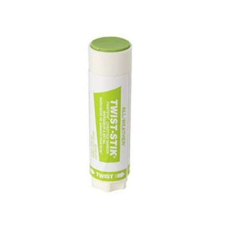 Livestock Markers Twist Sticks FLUORESCENT GREEN 12ct