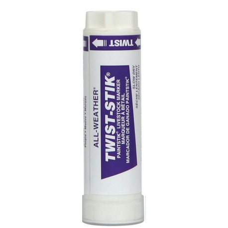 Livestock Markers Twist Sticks PURPLE 12ct
