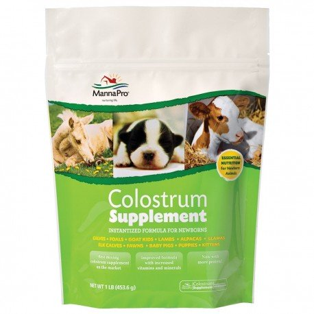 MannaPro Colostrum Supplement