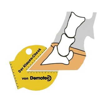 Demotec Cattle claw checker 5 Functions Cow hoof foot rot trimming aid clipper