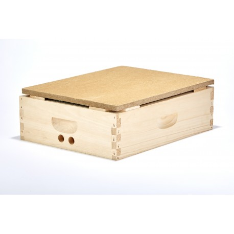 Beehive Hot Box for Winter
