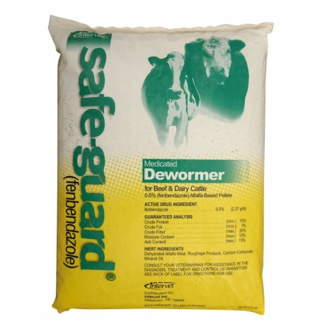 Safe-Guard Cattle & Swine Dewormer Pellets  .5%
