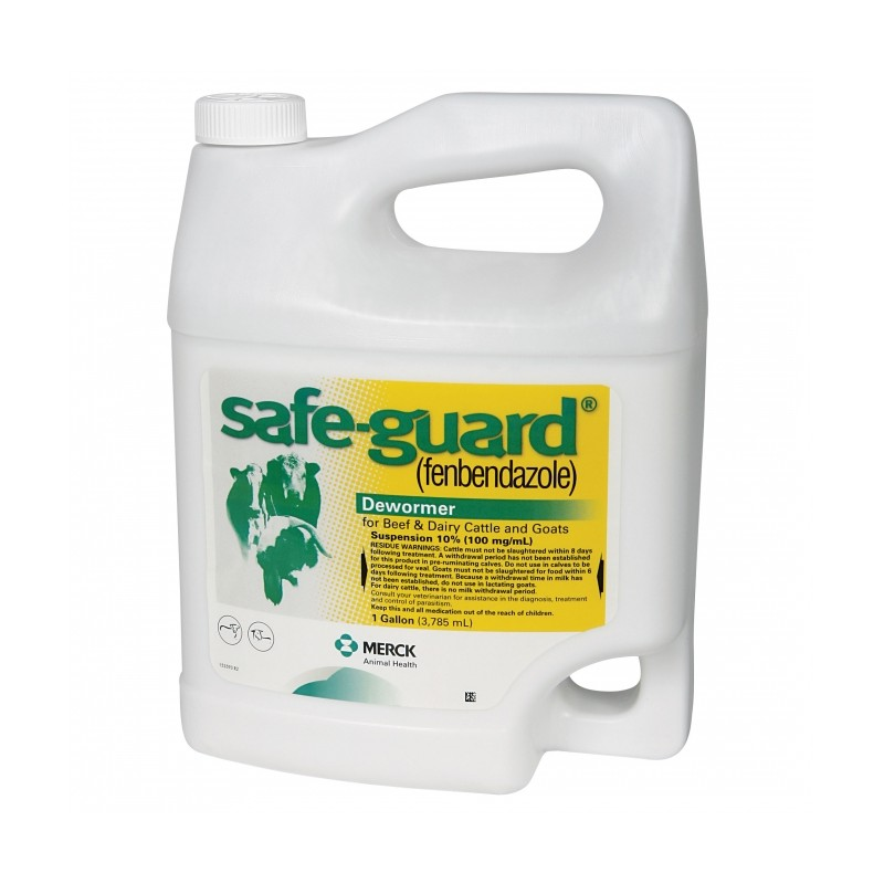 safeguard 10 suspension horse/cattle dewormer for sheep