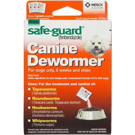 Safe-Guard Canine Wormer