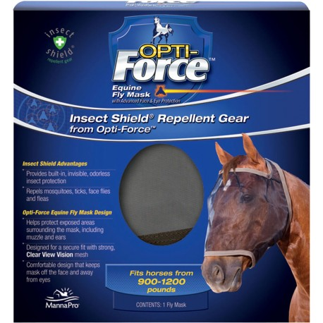 Insect Shield Opti Force Fly Mask