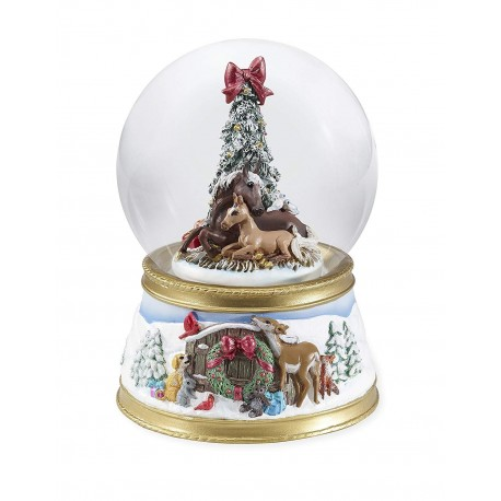 Breyer Musical Snow Globe The Gift of Love