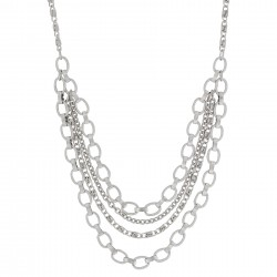 NC3890 Linked Layered Necklace