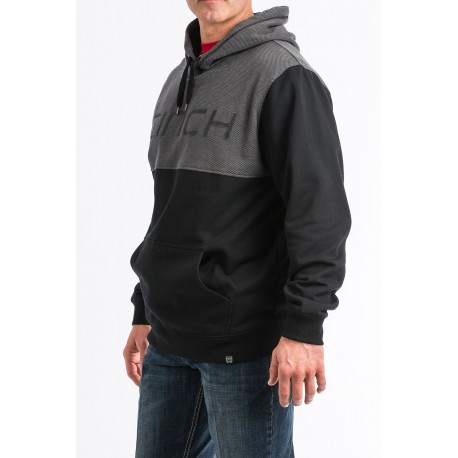 Cinch Men's Hoodie Fleece - Black