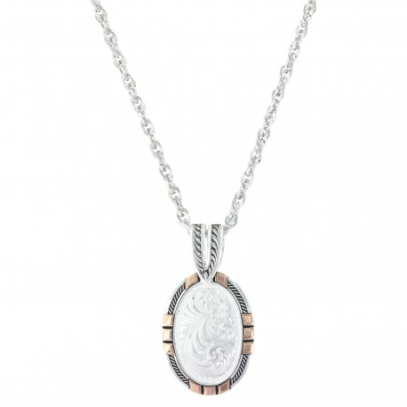 NC2890RG New Traditions Rose Gold Pendant Necklace