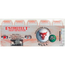 Estrotect Heat Detector-Red/orange 50ct