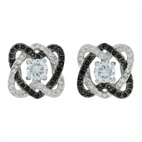 ER3609 Twisted Up In Love Earrings