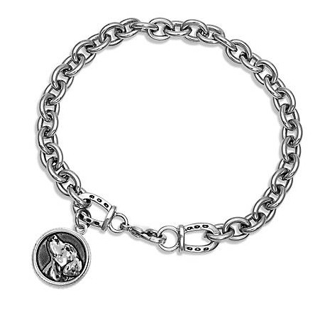 BC4049 Happy Tails Golden Retriever Bracelet